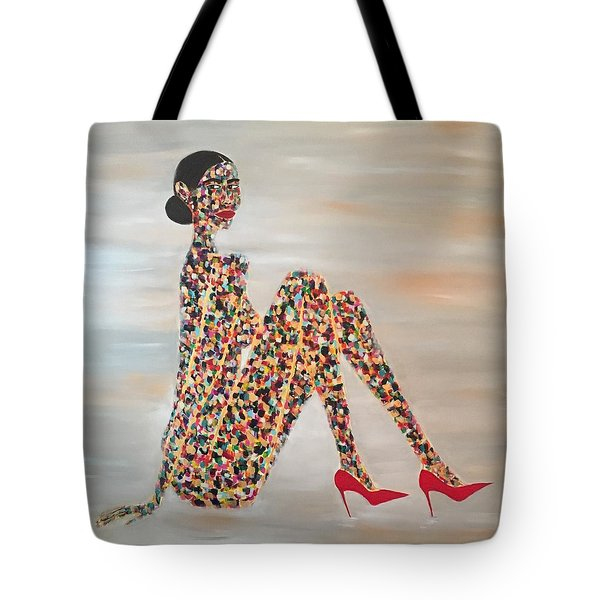 Woman Of Color Tote Bag