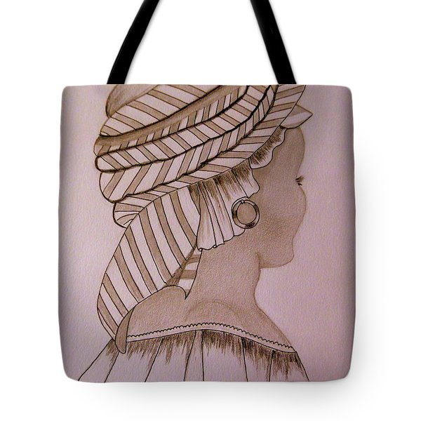 Woman Of Dakar Tote Bag by Anne Gordon