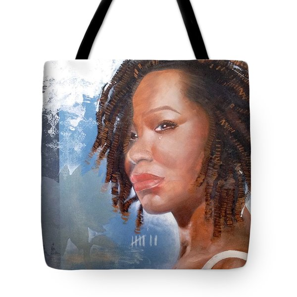 Tote Bag featuring the painting Woman Of Magdala by Christopher Marion Thomas
