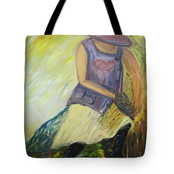 Woman Of Wheat Tote Bag