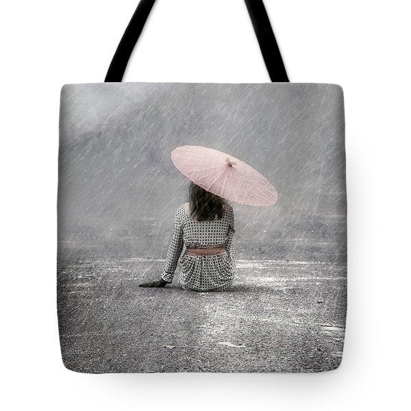 Woman On The Street Tote Bag by Joana Kruse