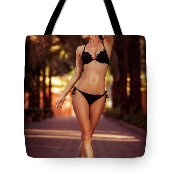 Woman Perfect Body Tote Bag
