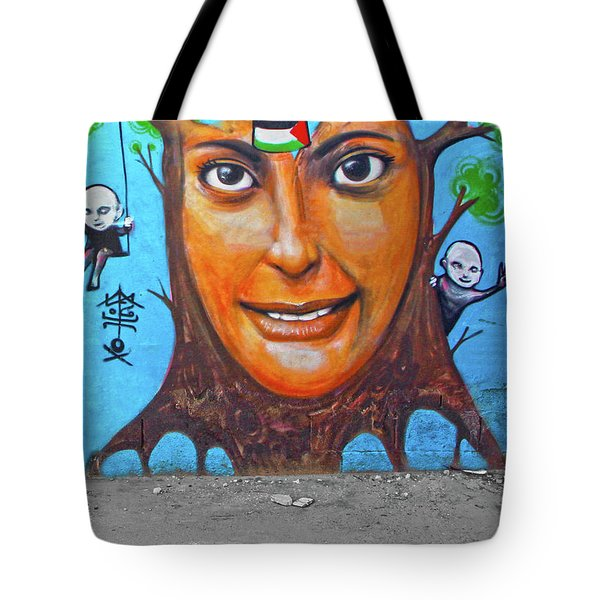 Tote Bag featuring the photograph Woman Tree by Munir Alawi
