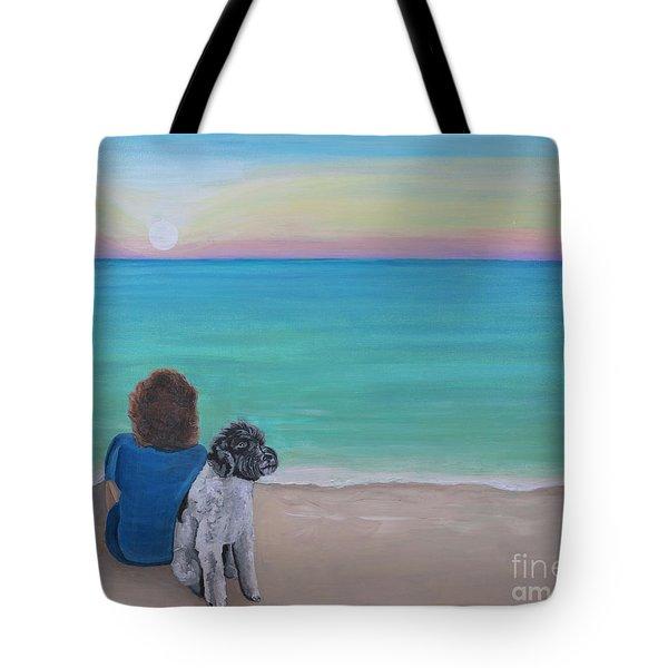 Woman's Best Friend Tote Bag