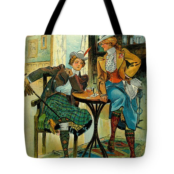 Woman's Club 1899 Tote Bag by Padre Art