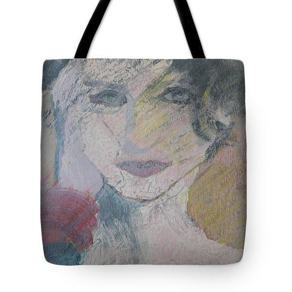 Woman's Portrait - Untitled Tote Bag