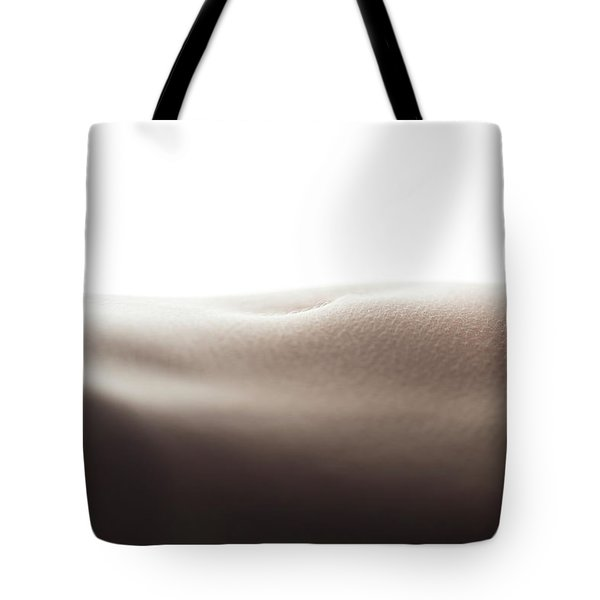 Womans Stomach Tote Bag