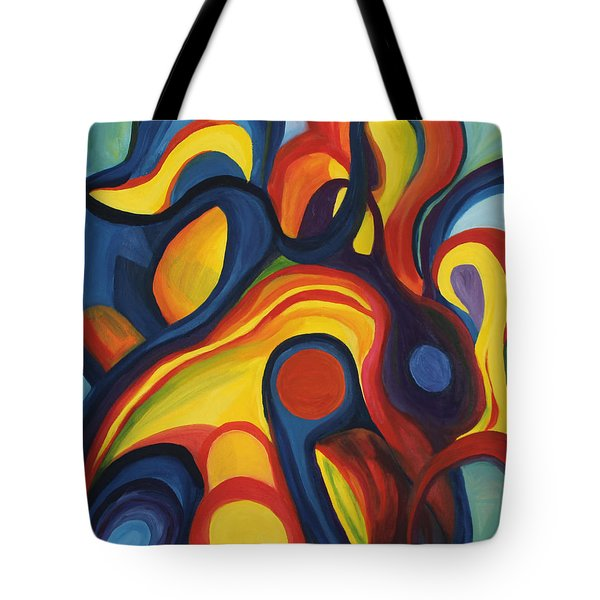 Women As Caregivers Tote Bag