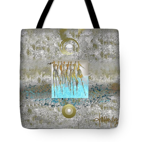 Women Chanting - Song Of Europa Tote Bag