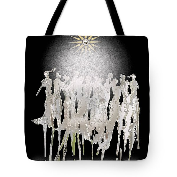 Women Chanting - Spirit Dance Tote Bag