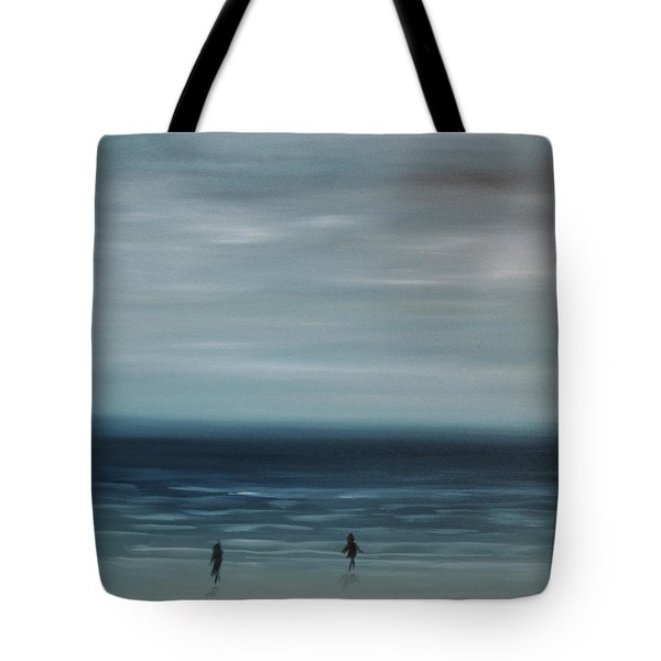 Women On The Beach Tote Bag by Tone Aanderaa