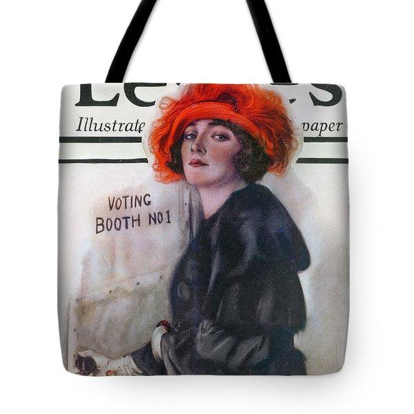 Women Voting, 1920 Tote Bag by Granger