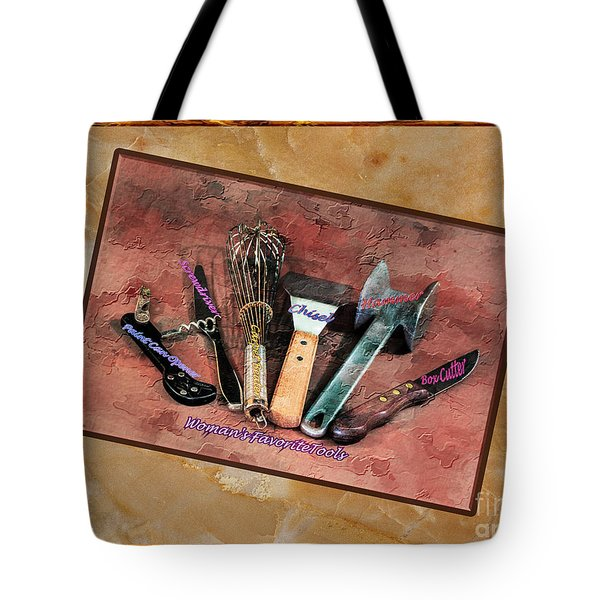 Women's Favorite Tools Tote Bag