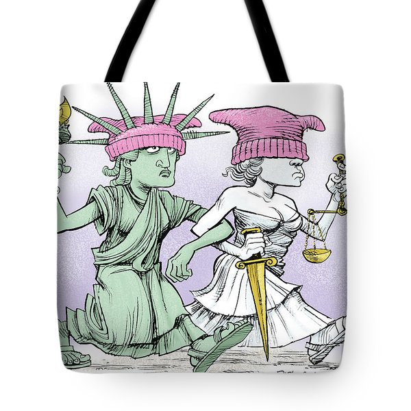 Women's March On Washington Tote Bag