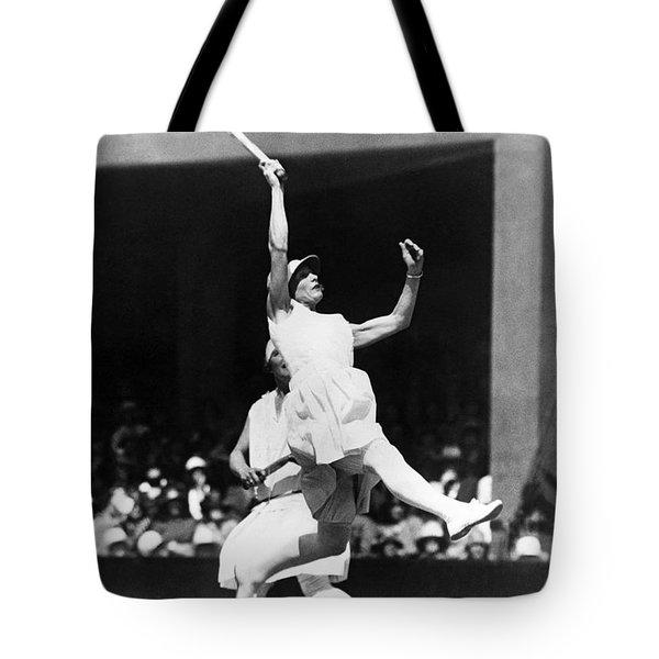 Women's Tennis At Wimbledon Tote Bag