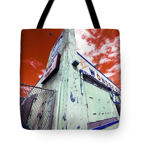 Wonder Bar Pop Art Tote Bag