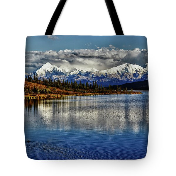 Wonder Lake IIi Tote Bag by Rick Berk