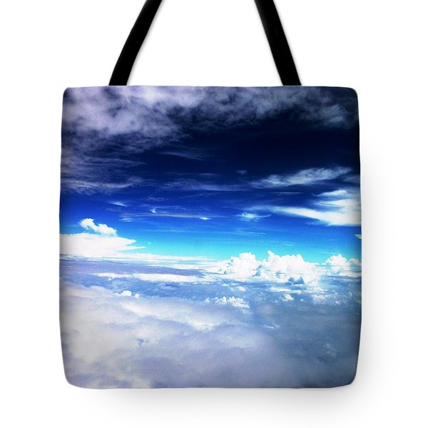 Wonder Of Cloudz Tote Bag
