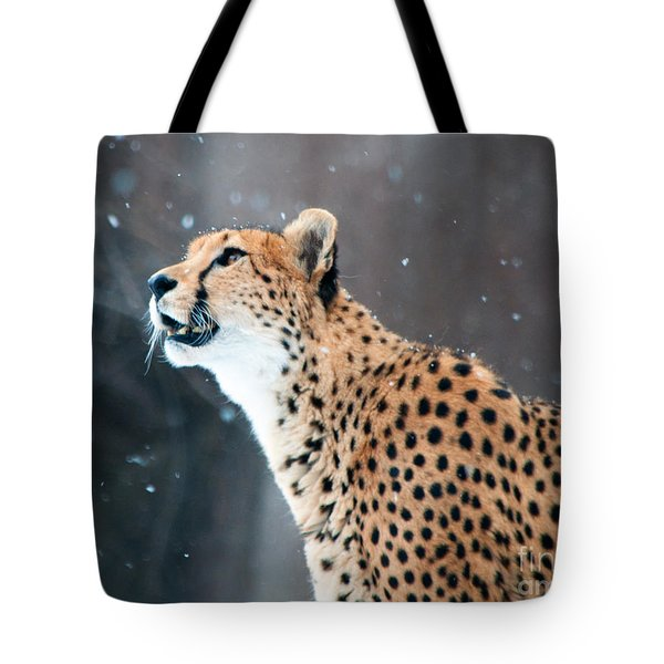 Tote Bag featuring the photograph Wonder Of Snow by Lula Adams