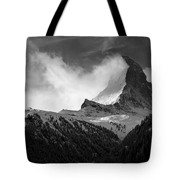 Wonder Of The Alps Tote Bag