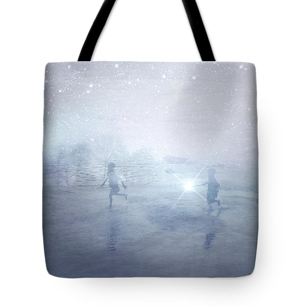 Wonder On A Starry Night Tote Bag