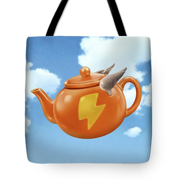 Wonder Teapot Tote Bag