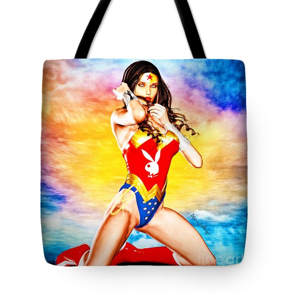 Wonder Woman 2085 Tote Bag