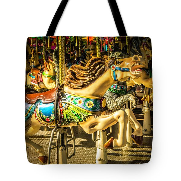 Wonderful Horse Ride Tote Bag