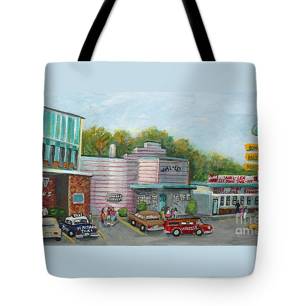 Wonderful Memories Of The Wal-lex Tote Bag