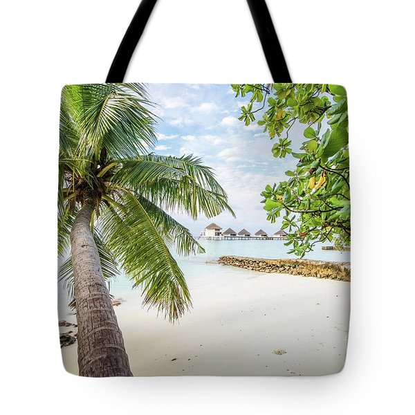 Tote Bag featuring the photograph Wonderful View by Hannes Cmarits