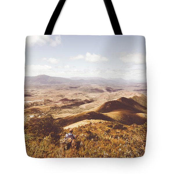 Wonderful West Coast Tasmania Views Tote Bag