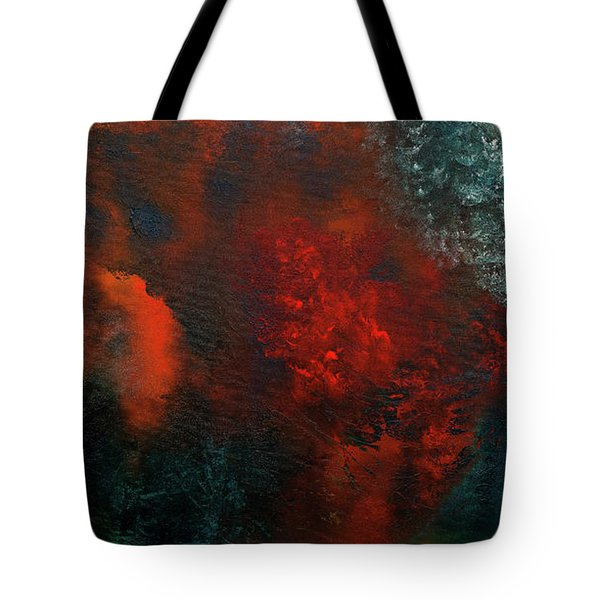 Tote Bag featuring the painting Wonderland by Carmen Guedez