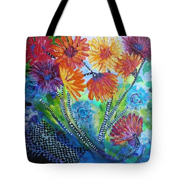 Wonderland Garden Tote Bag