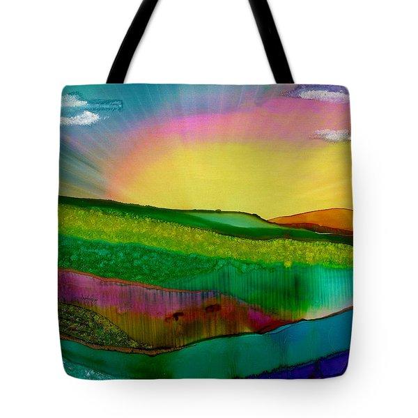 Wonderland Of Salad Days Tote Bag