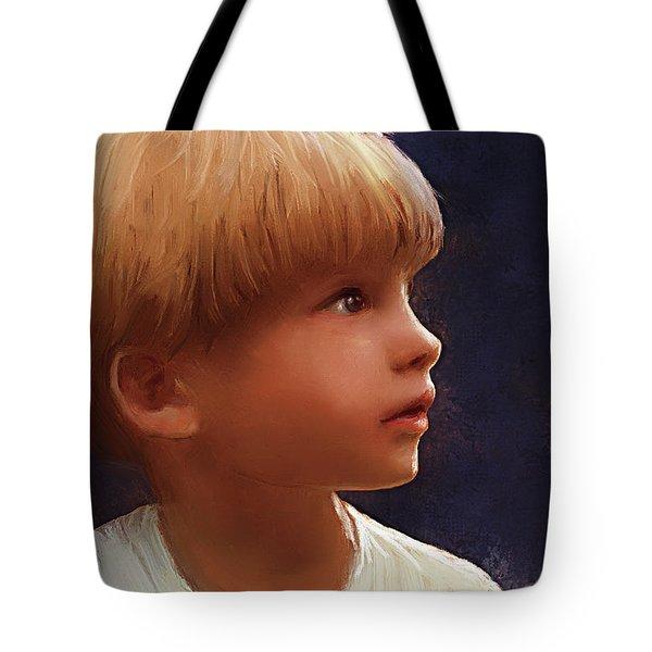 Wonderment Tote Bag