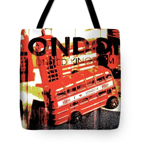 Wonders Of London Tote Bag