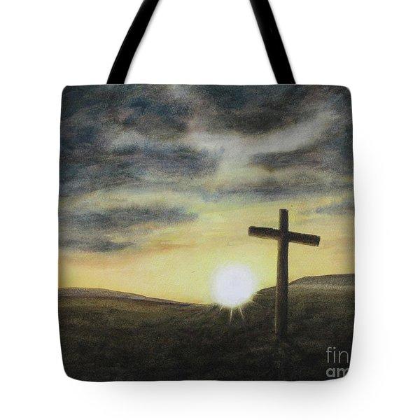 Wondrous Cross Tote Bag
