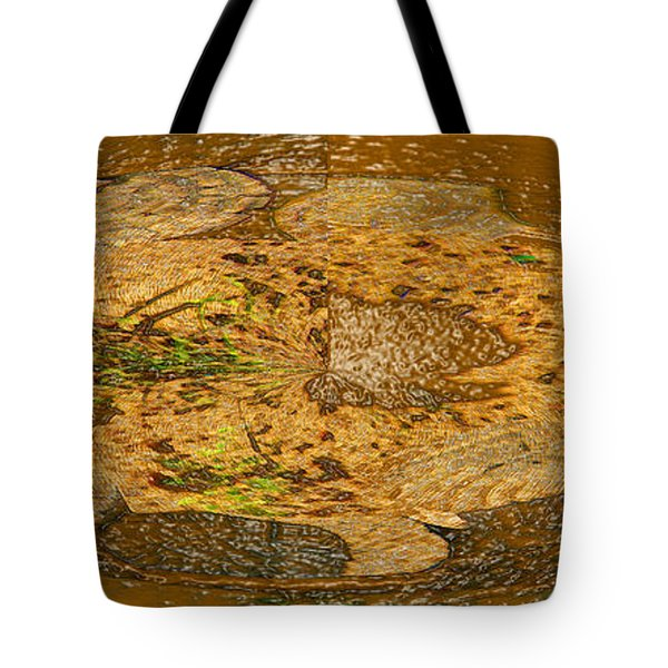 Tote Bag featuring the photograph Wood Abstracted by Lenore Senior