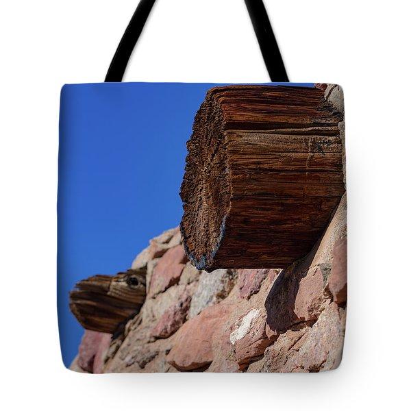 Wood And Stone Tote Bag