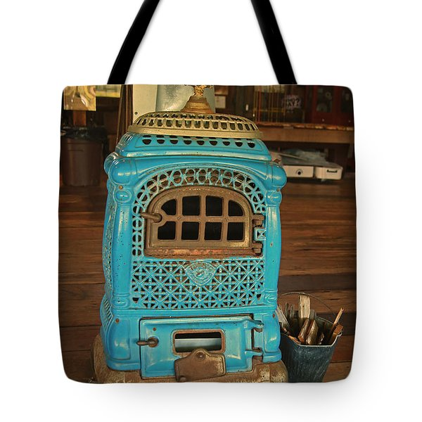 Wood Burning Heater Tote Bag