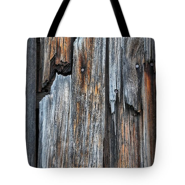 Wood Deatail Tote Bag