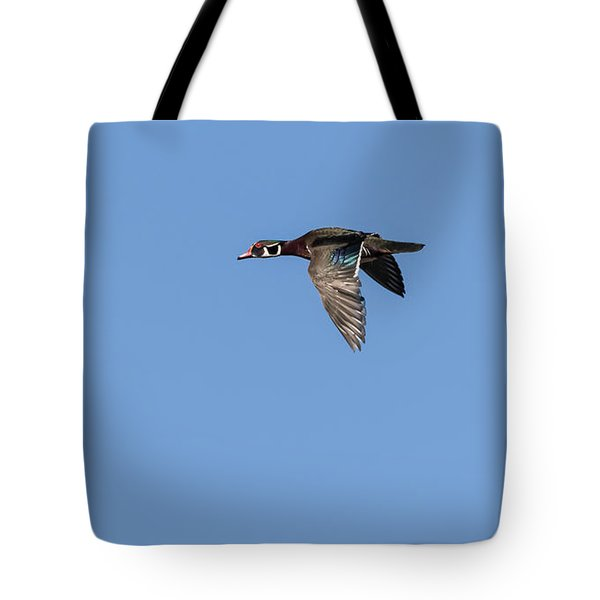 Wood Duck 2017-1 Tote Bag by Thomas Young