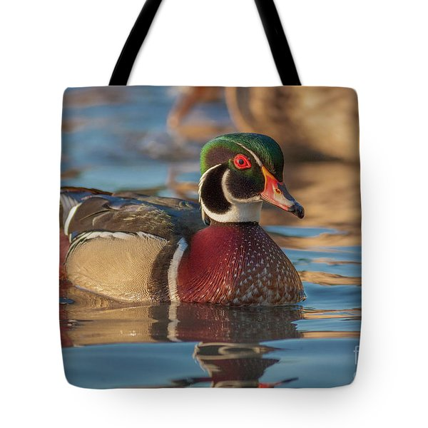 Wood Duck 4 Tote Bag