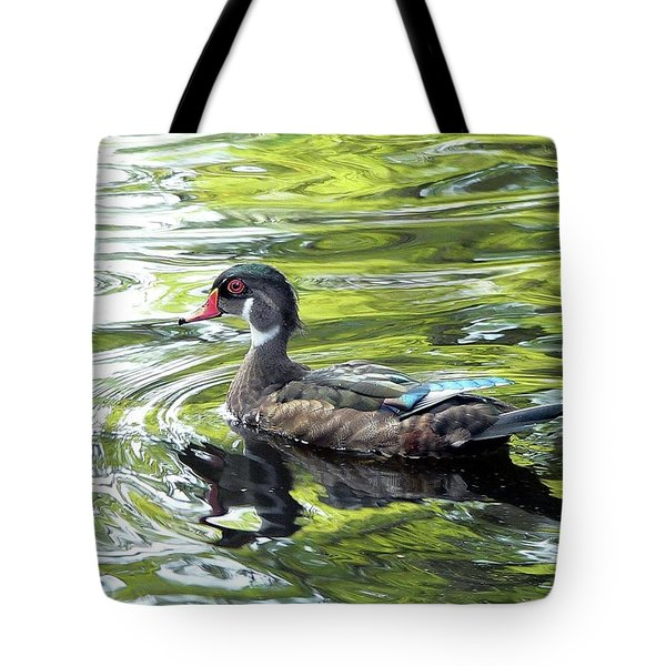 Wood Duck Tote Bag by Al Powell Photography USA