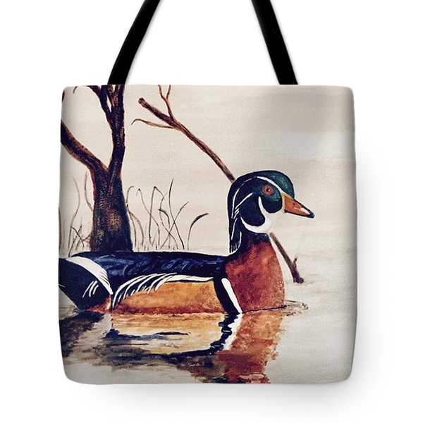 Wood Duck No. 2 Tote Bag