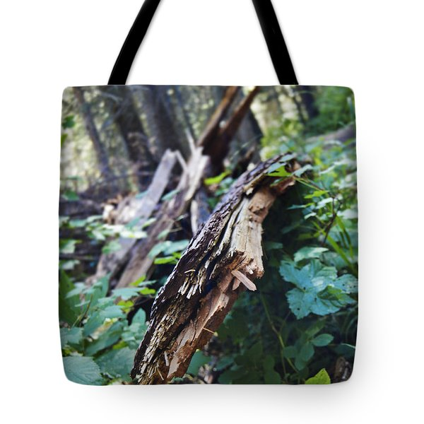 Wood In The Forest Tote Bag