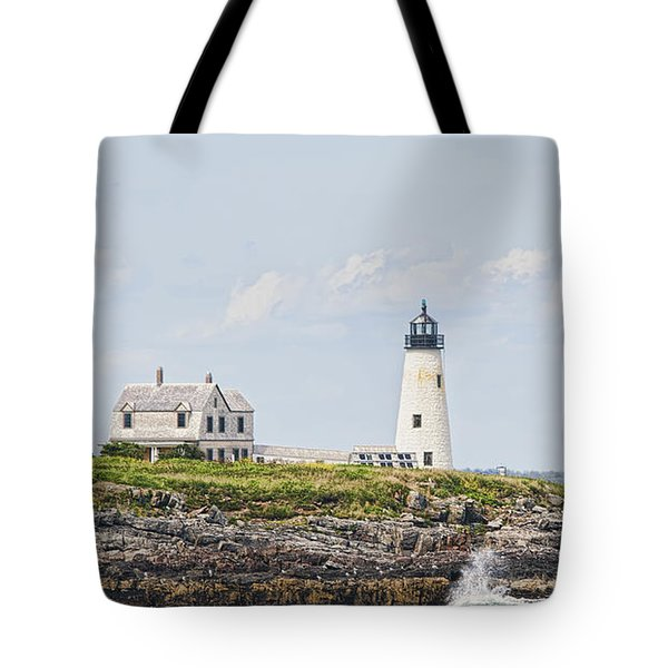 Wood Island Light Tote Bag by Richard Bean