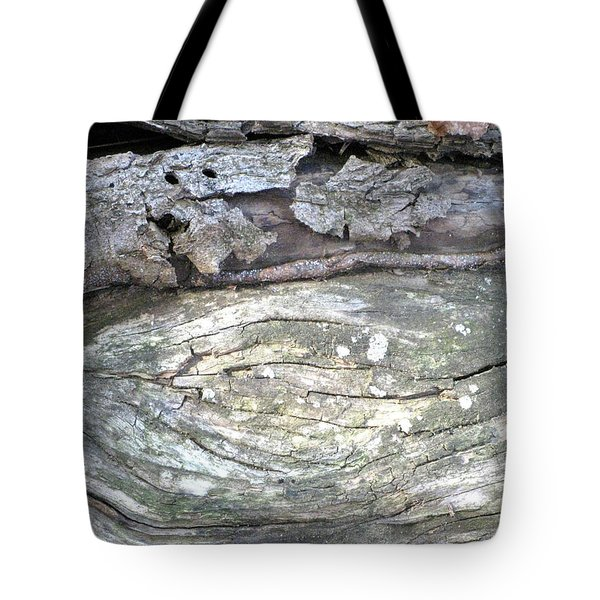 Wood Knot Tote Bag by Michele Wilson
