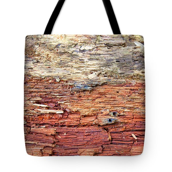 Wood Tote Bag by Milena Ilieva