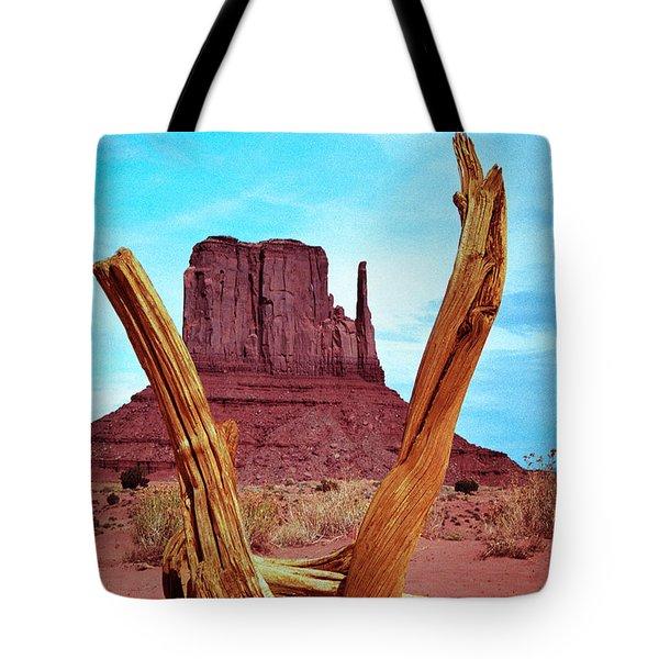 Wood 'n Mitten Tote Bag
